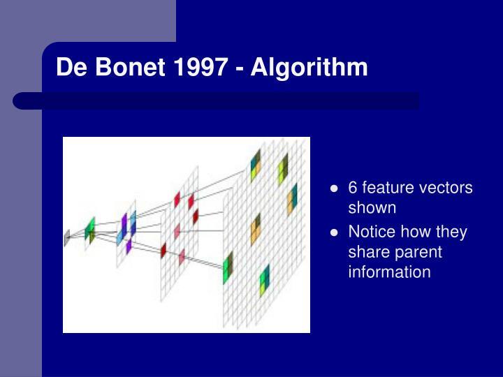 De Bonet 1997 - Algorithm