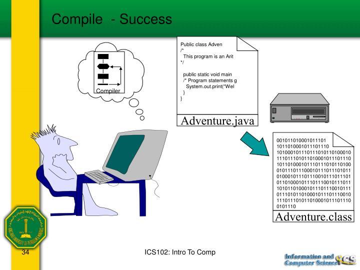 Compile  - Success