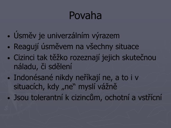 Povaha