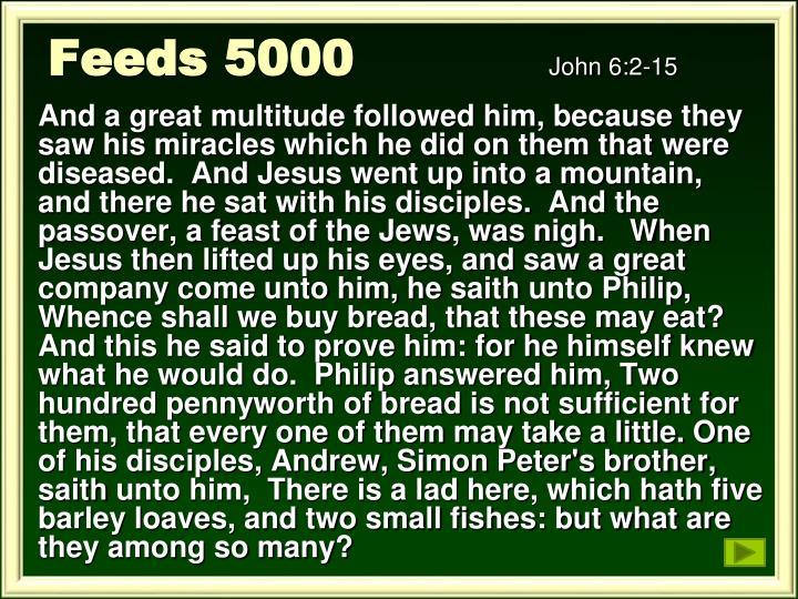 Feeds 5000