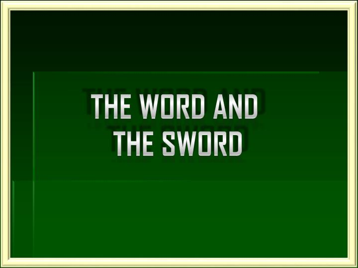 The Word And