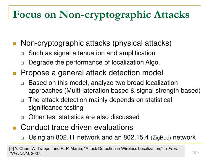 Focus on Non-cryptographic Attacks