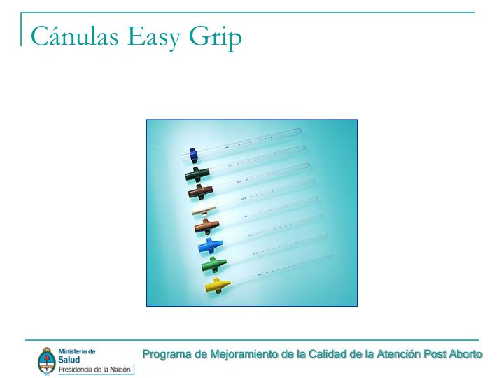 Cánulas Easy Grip