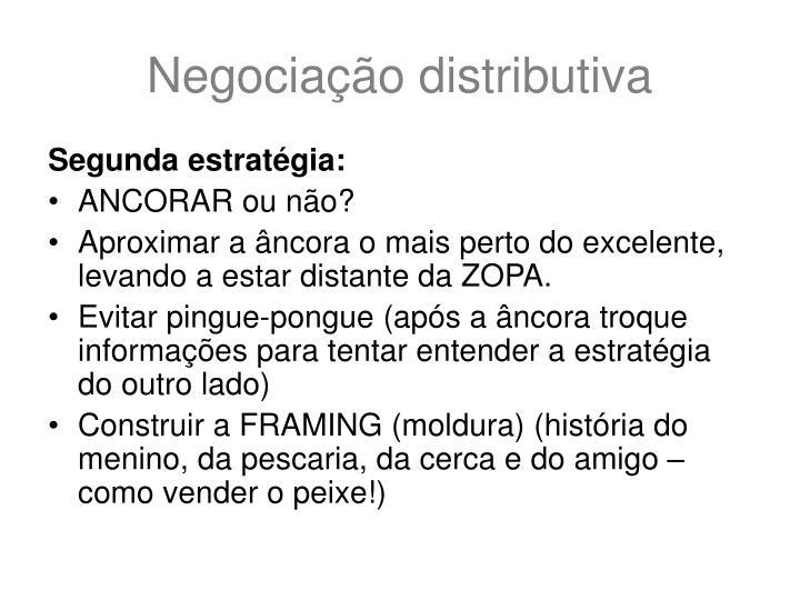 Negociação distributiva
