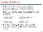 special task force formed