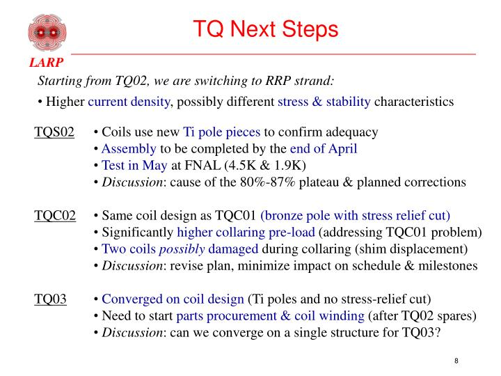 TQ Next Steps