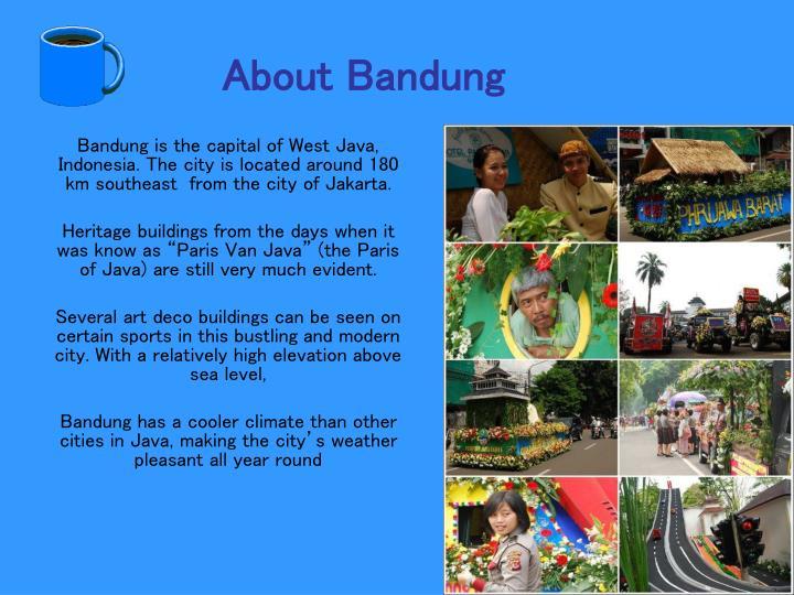 About Bandung