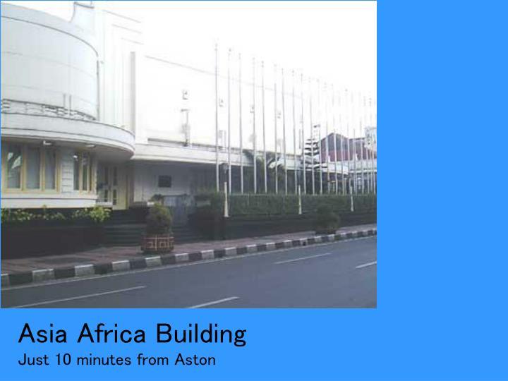 Asia Africa Building