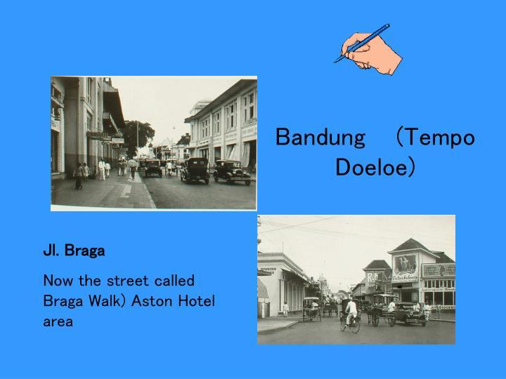 Bandung    (Tempo Doeloe)