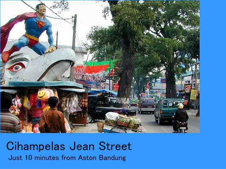 Cihampelas Jean Street