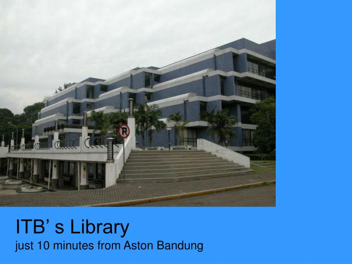 ITB' s Library