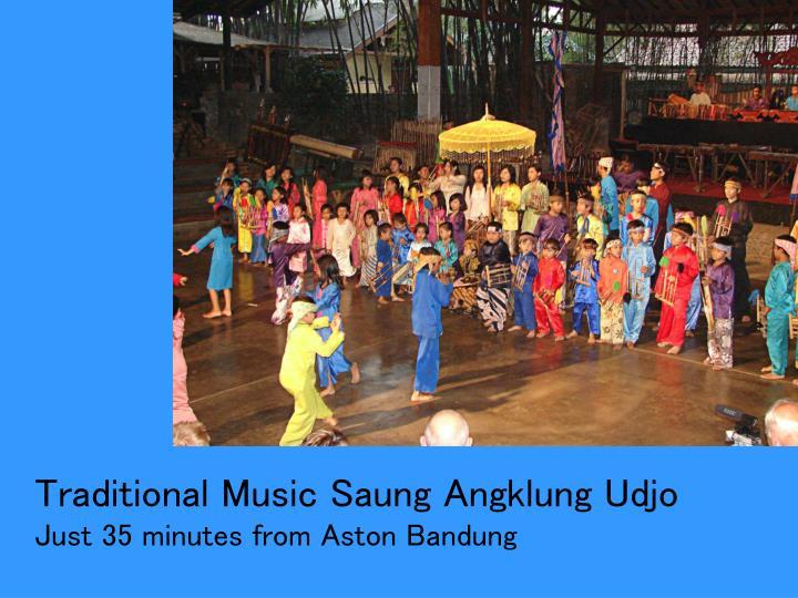 Traditional Music Saung Angklung Udjo