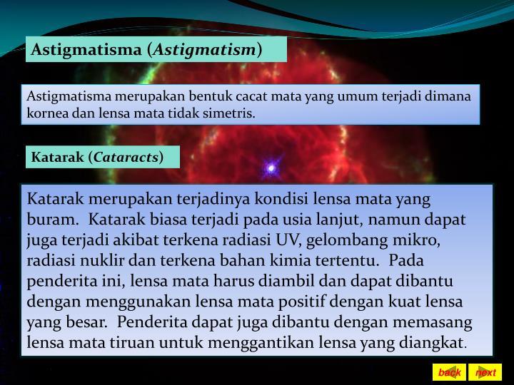 Astigmatisma (