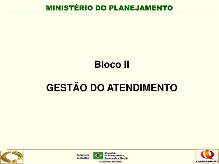 Bloco II