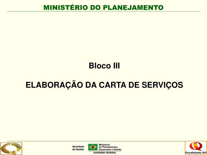 Bloco III