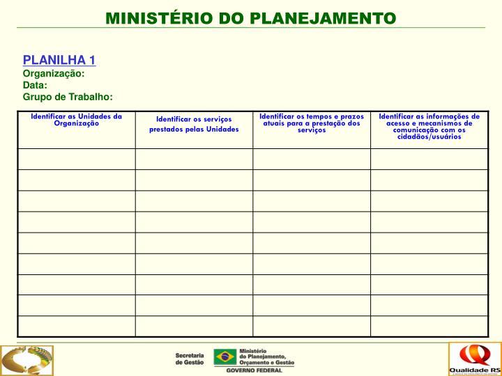 PLANILHA 1