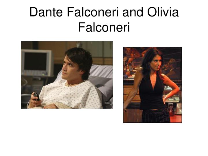Dante Falconeri and Olivia Falconeri