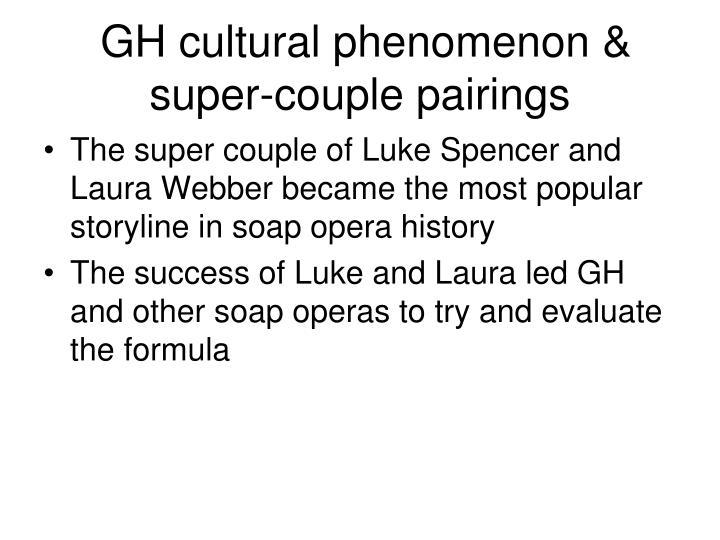 GH cultural phenomenon & super-couple pairings
