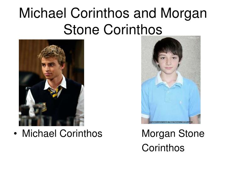 Michael Corinthos and Morgan Stone Corinthos