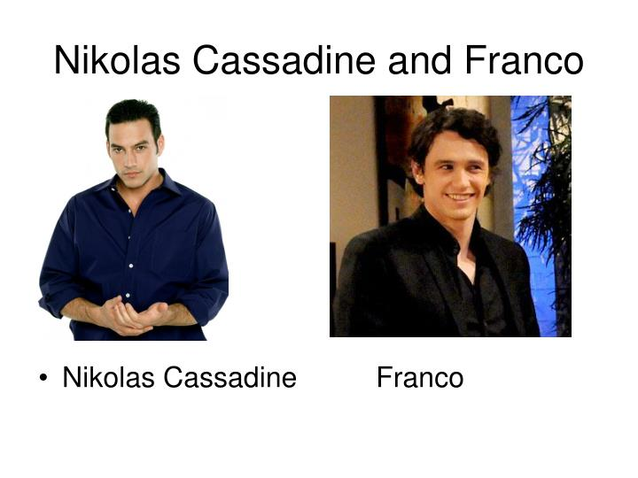Nikolas Cassadine and Franco