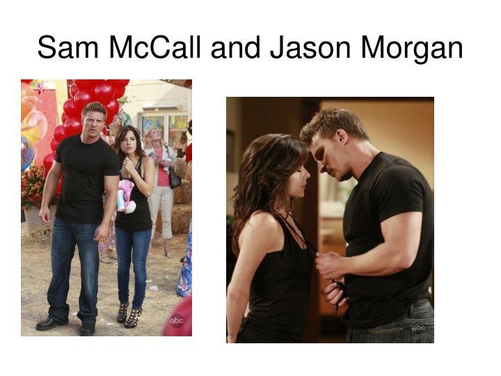 Sam McCall and Jason Morgan