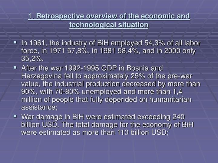 1 retrospective overview of the economic and technological situation1