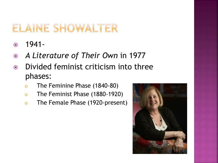 Elaine Showalter