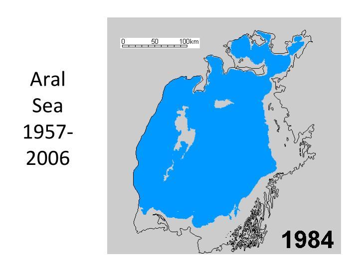 Aral Sea 1957-2006