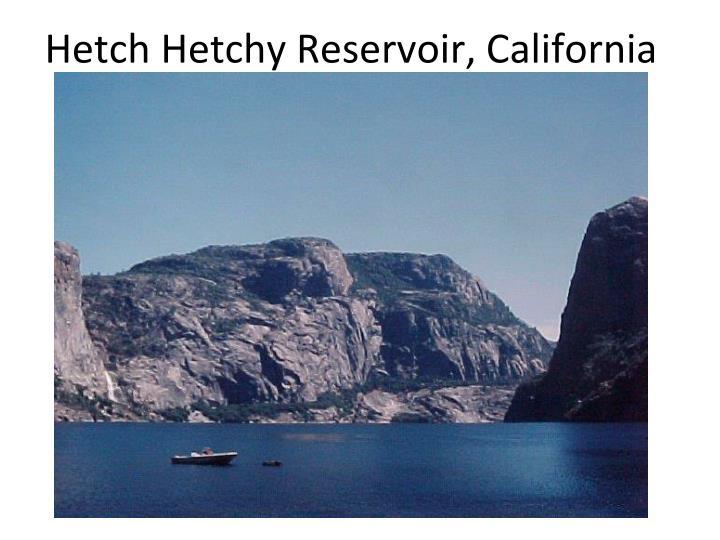 Hetch Hetchy Reservoir, California