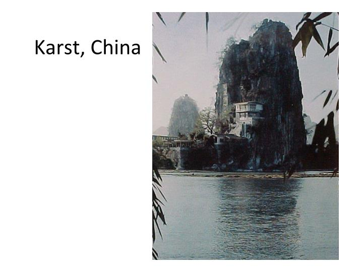 Karst, China
