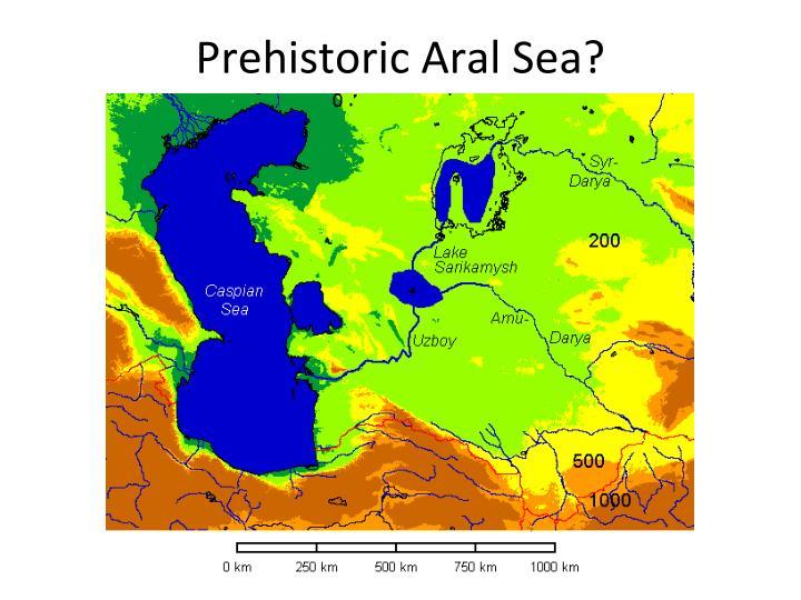 Prehistoric Aral Sea?