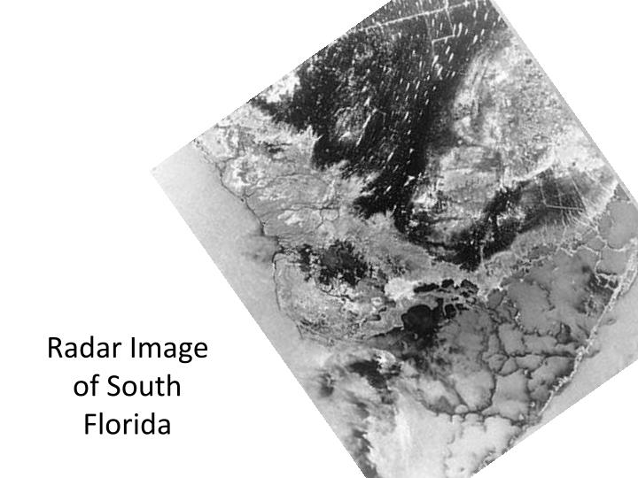 Radar Image of South Florida