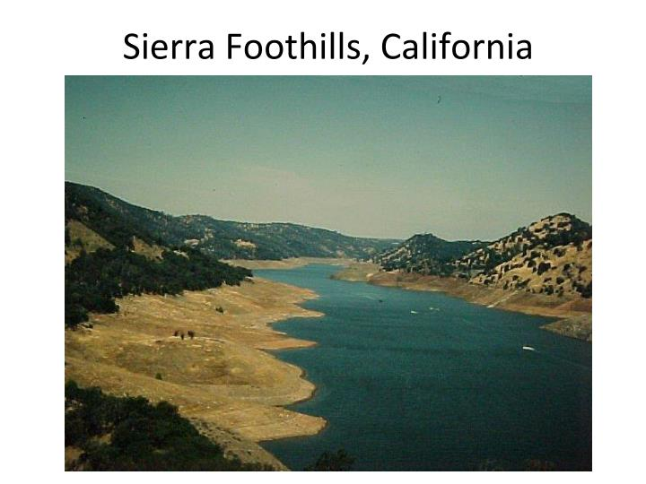 Sierra Foothills, California