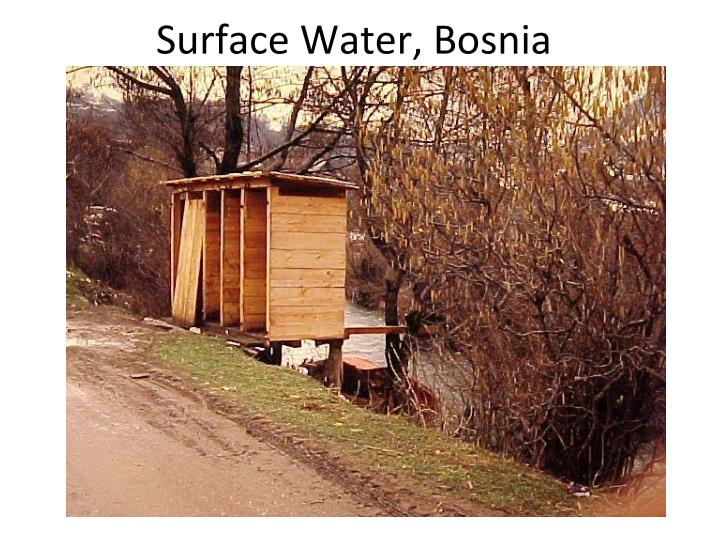 Surface Water, Bosnia
