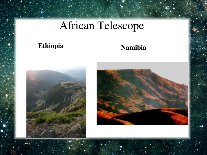 African Telescope