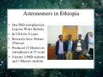astronomers in ethiopia