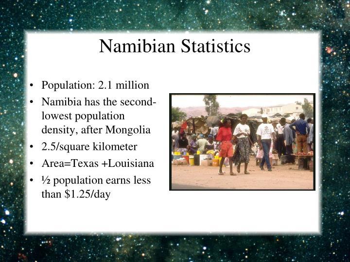 Namibian Statistics