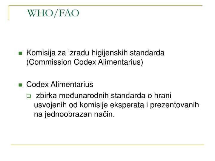 WHO/FAO