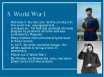 5 world war i