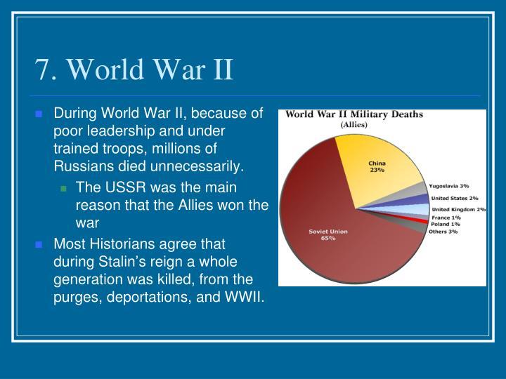 7. World War II