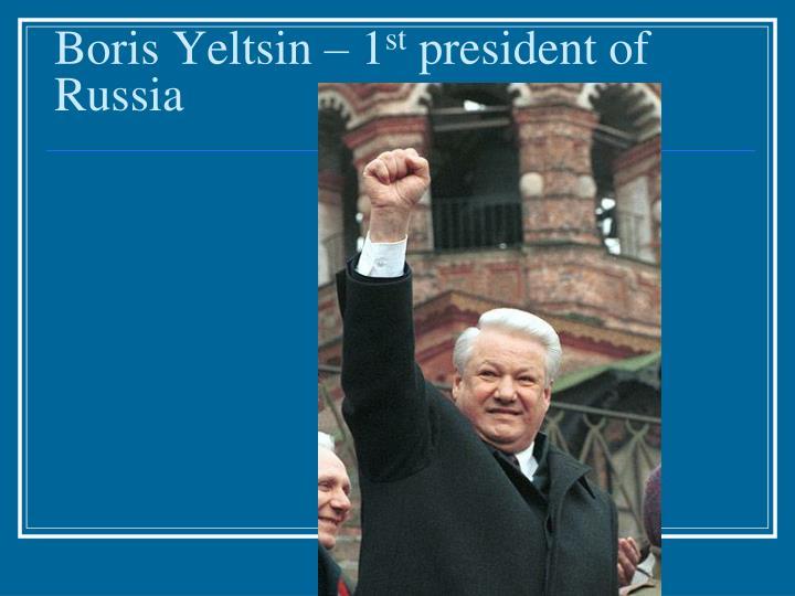 Boris Yeltsin – 1