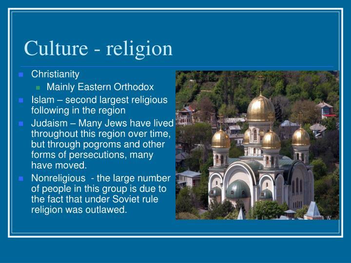 Culture - religion