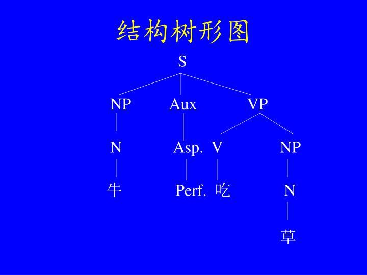 结构树形图