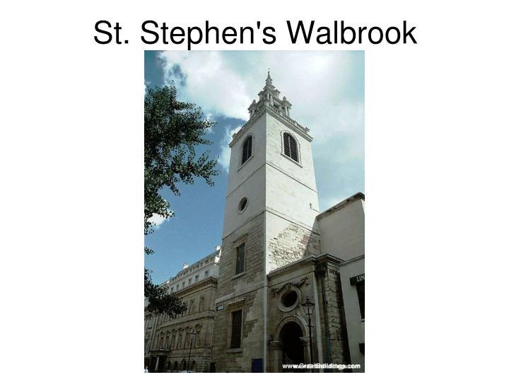 St. Stephen's Walbrook