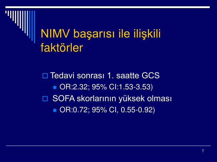 NIMV başarısı ile ilişkili faktörler