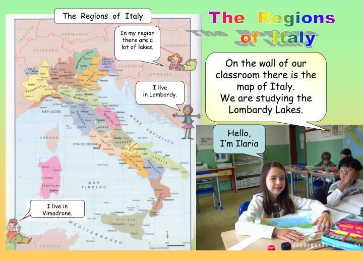 The  Regions  of  Italy