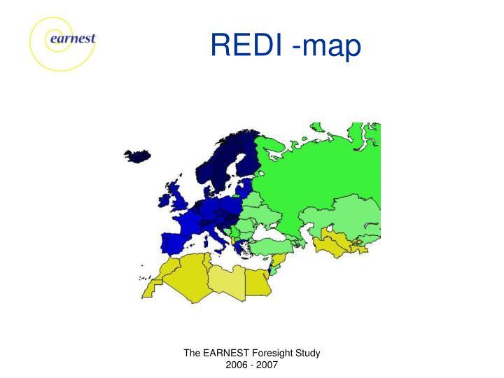 REDI -map