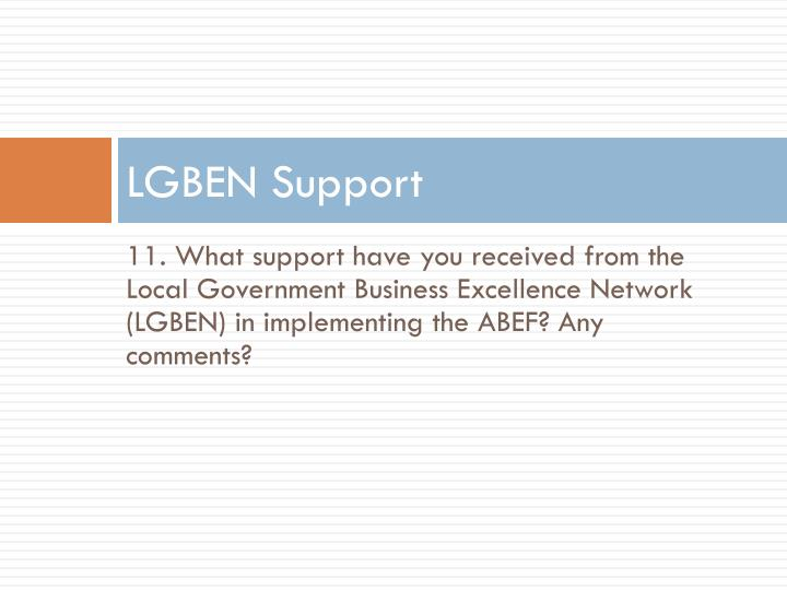 LGBEN Support