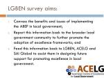 lgben survey aims