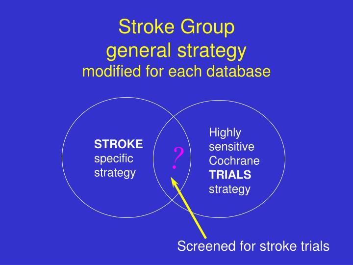 Stroke Group
